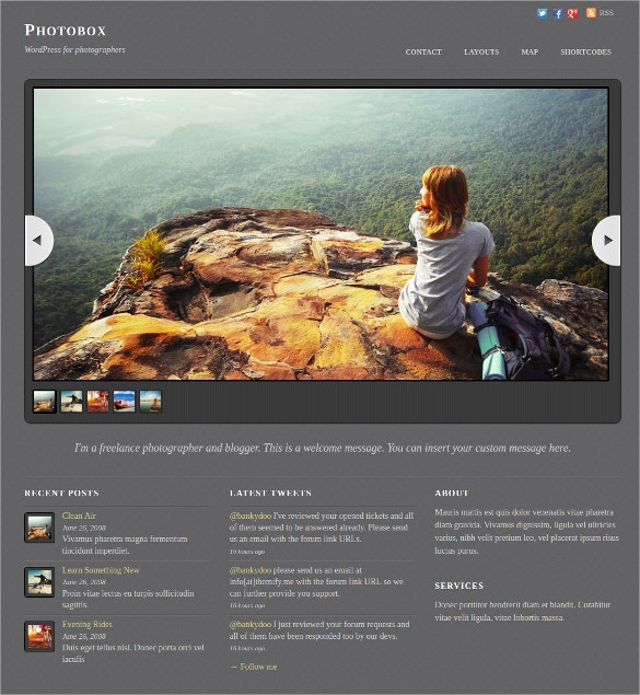 art portfolio photographers wordpress theme 49
