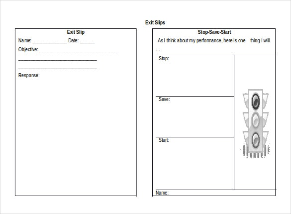 MS Word Format Slip Templates Free Download Free - Microsoft word 10 templates