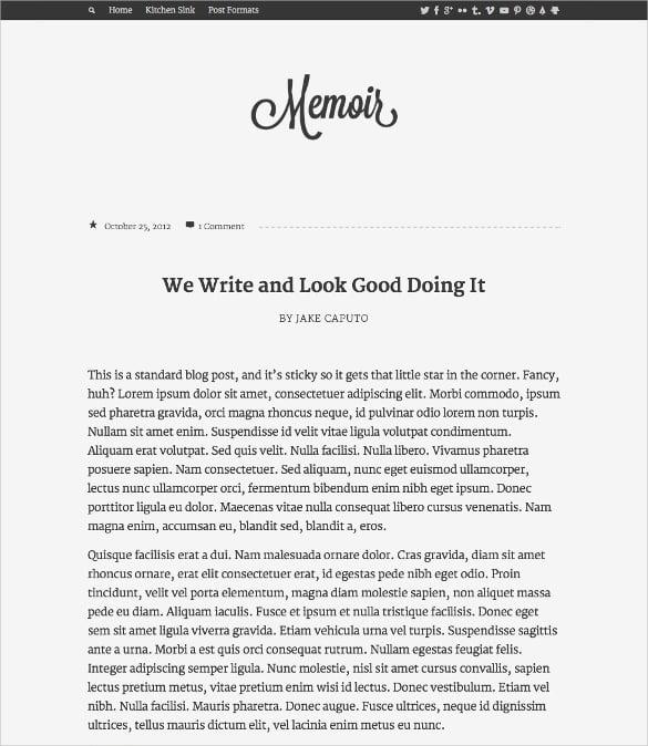 tumbler style wordpress blog theme 39