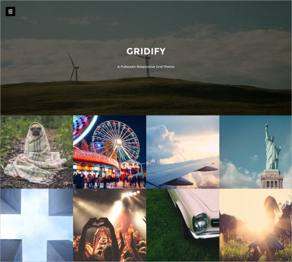 fullsceen responsive tumblr style grid wordpress theme 44