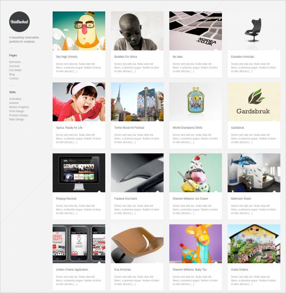 minimal wordpress tumblr style theme 54