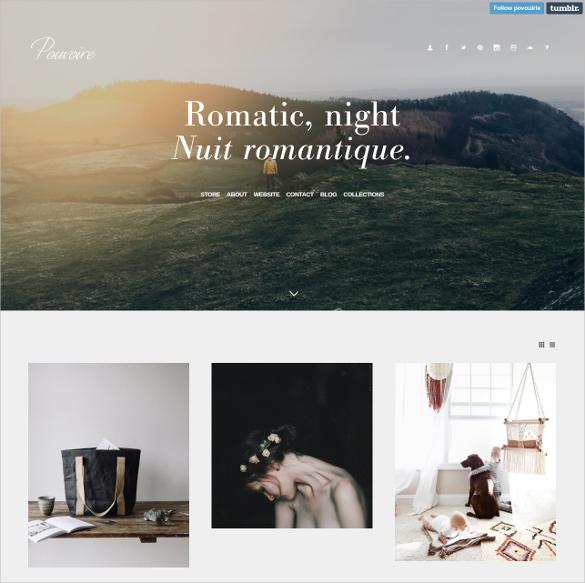photography tumblr style wordpress theme 25