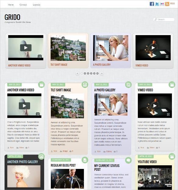 19 Tumblr Style Wordpress Themes Amp Templates Free