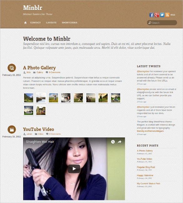 minimal minblr tumblr style wordpress theme 49
