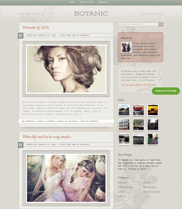 beautiful designer tumblr style wordpress theme 79