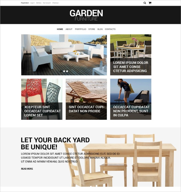 furniture interior design woocommerce theme114