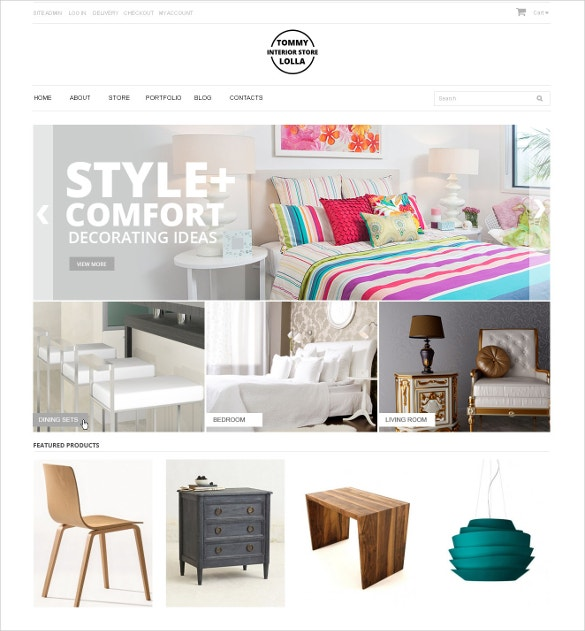 interior design store woocommerce theme 114