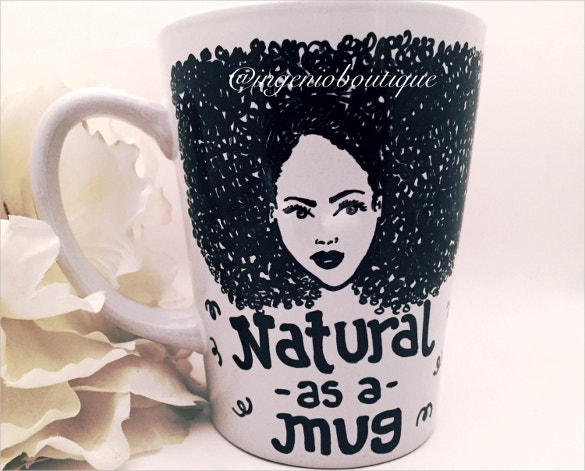 ceramic american art mug coffee cup