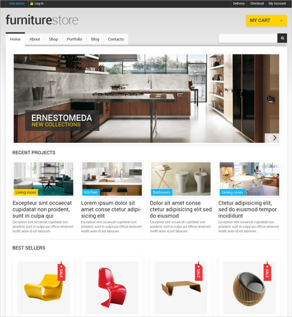comfortable furniture interior design woocommerce theme 114