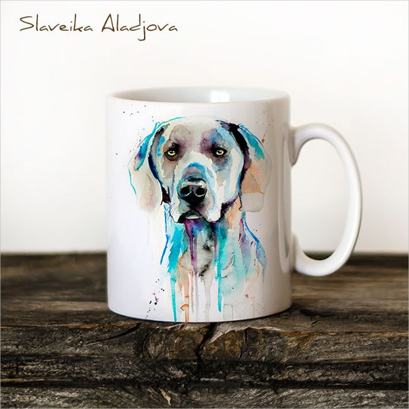 unique gift animal coffee mug tea cup art