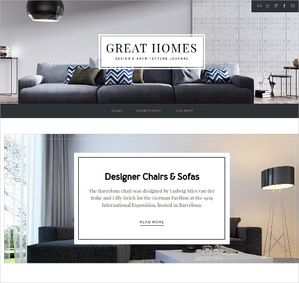architecture interior design woocommerce theme 44
