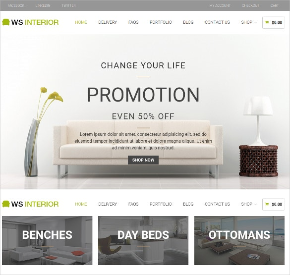 responsive interior design woocommerce theme 19