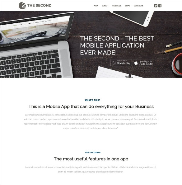 mobile software applications developer wordpress theme 75