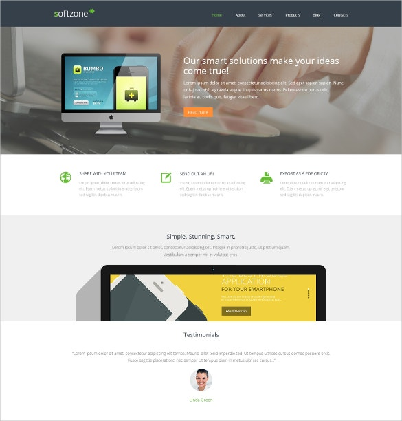 smart software development responsive wordpress theme 75