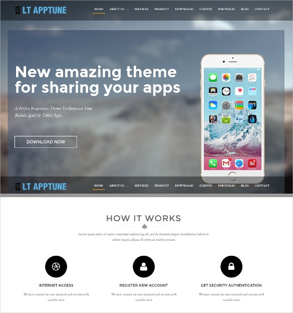software developer apptune wordpress website theme 29