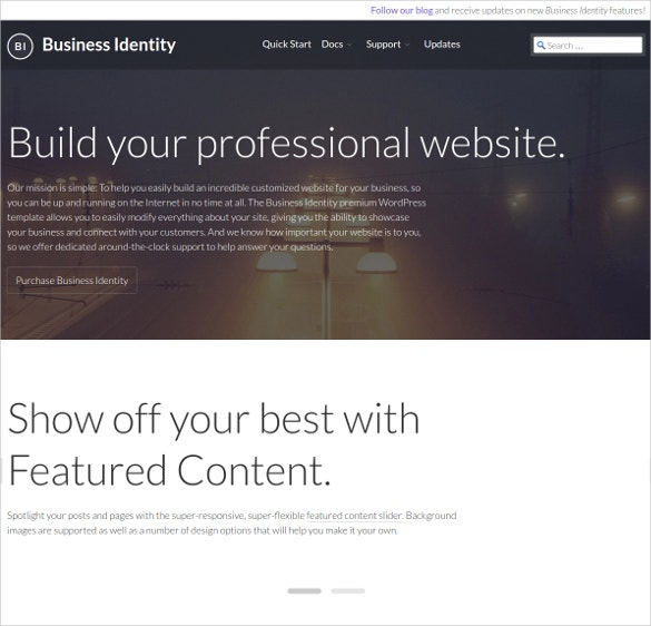 professional software developer wordpress website theme 175