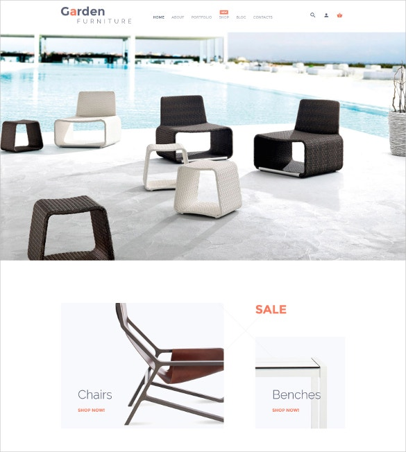 garden furniture home decoration woocommerce theme 114