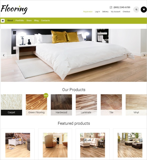 home decoration flooring responsive woocommerce theme 114