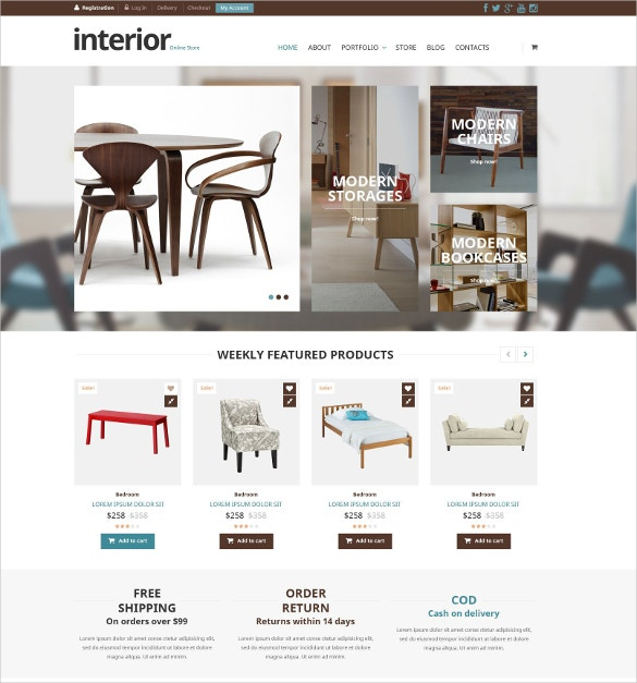 special home decor furniture store woocommerce theme 114