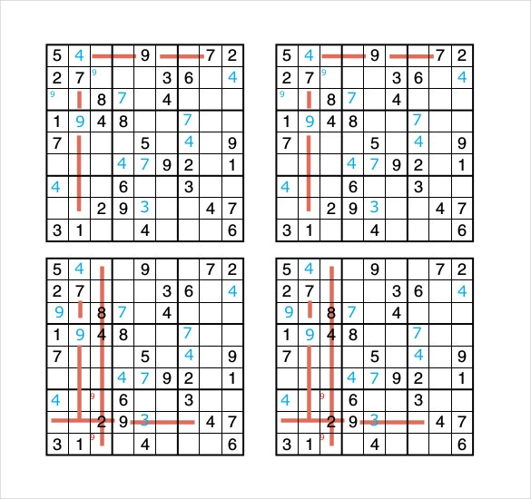 pdf template download for solving sudoku puzzle