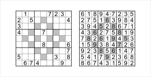 fortress sudoku template pdf download