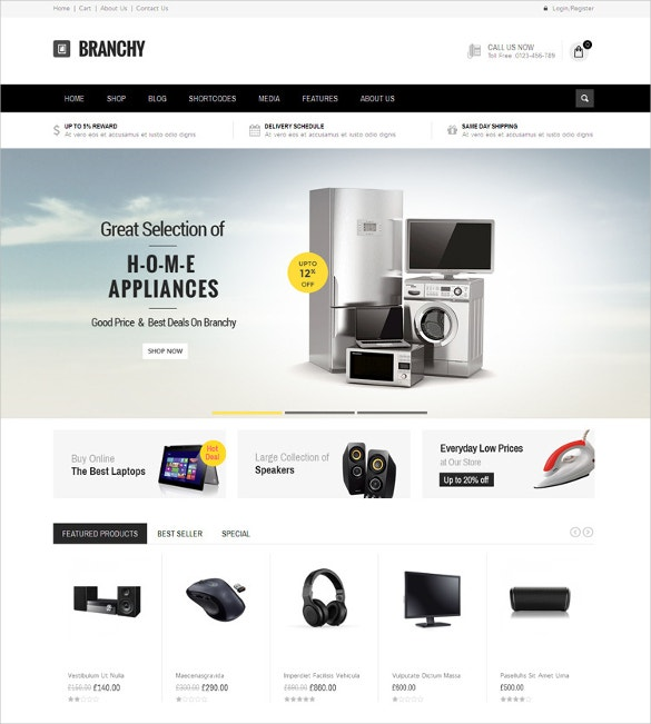 home decor woocommerce electroics responsive theme 59