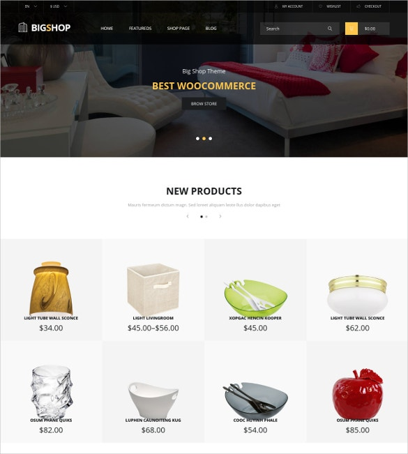 creative home decor woocommerce theme 59