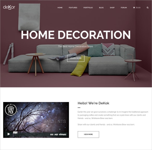 22+ Home Decor Woocommerce Themes & Templates | Free & Premium