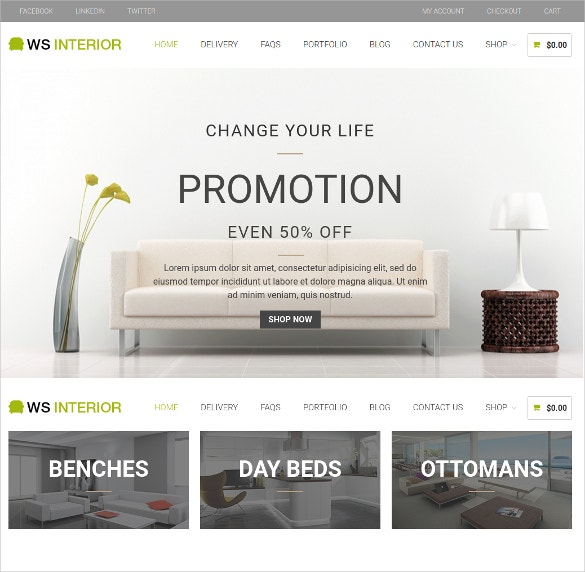 responsive home decor interior wordpress woocommerce theme 19