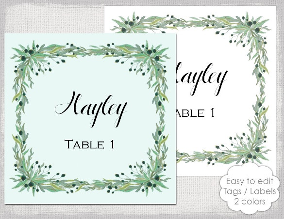 label template with a rustic olive ms word format