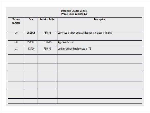 11  free download scoreboard templates in microsoft word format