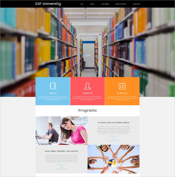 education centre lms joomla template 75
