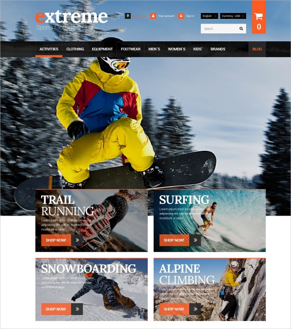 extreme clothes gear prestashop theme 139