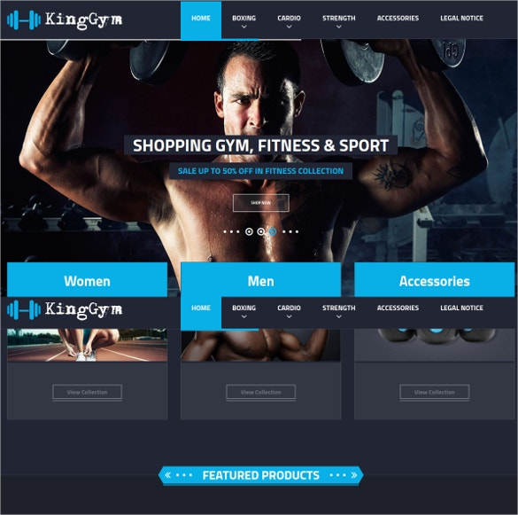fitness gym and sport prestashop theme 70