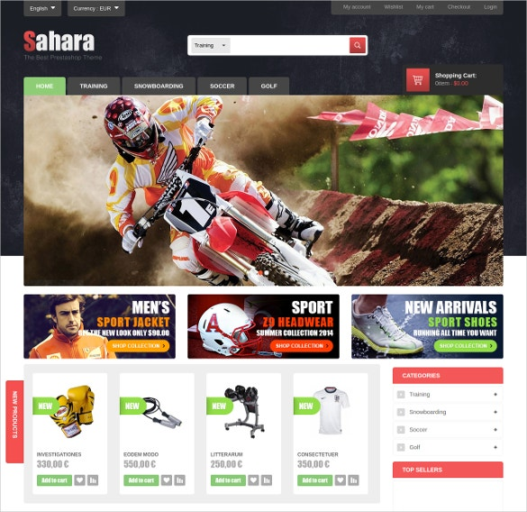 ultimate sports responsive prestashop theme 70