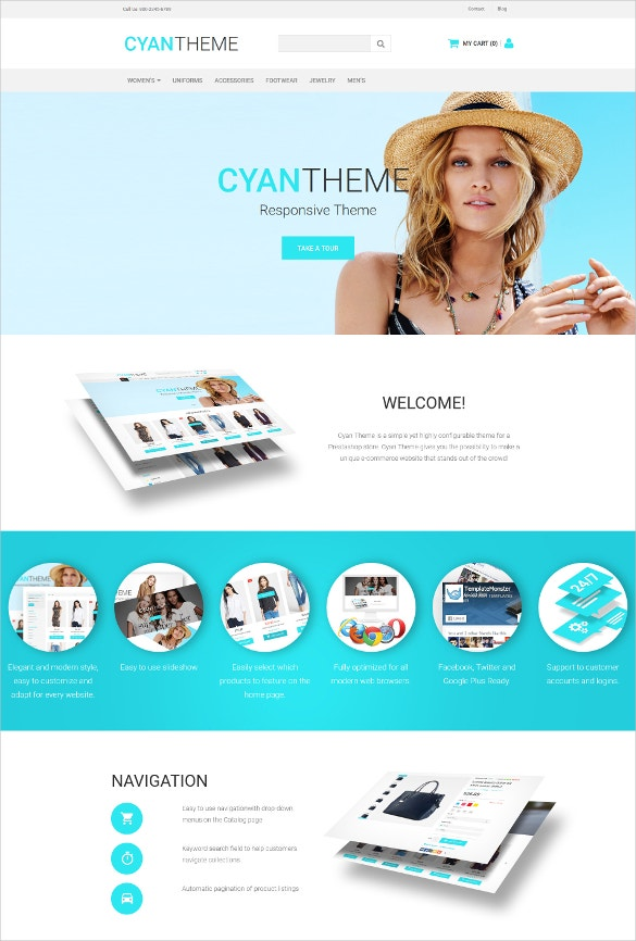 fashion store responsive motocms ecommerce html5 template