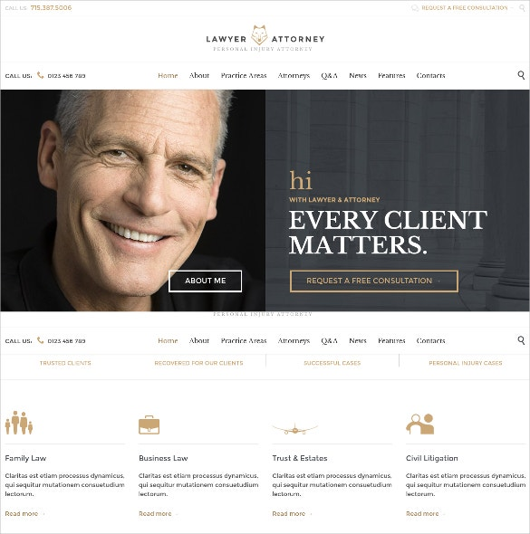 lawyers attorneys and law accountent wordpress website theme 49