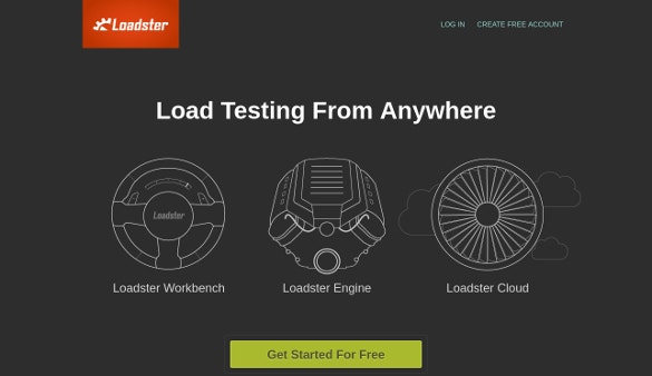 loadster load stress testing software