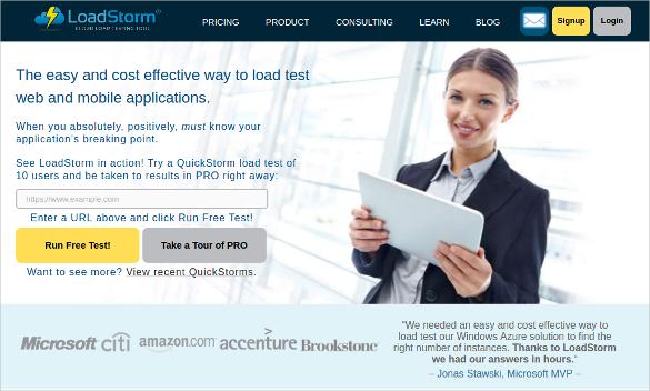 loadstorm performance testing tool download