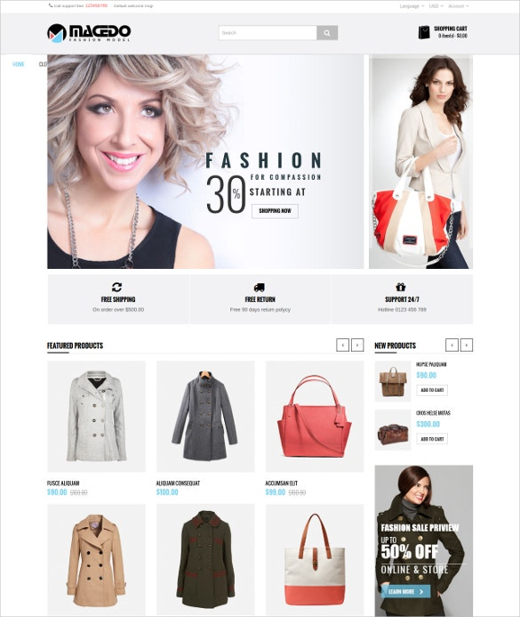 responsive shopping ecommerce shopify theme1
