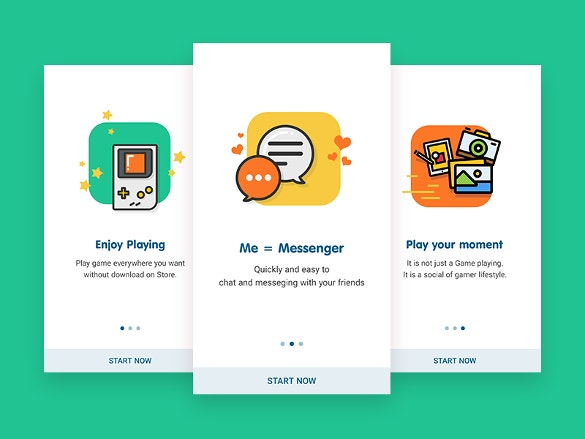 zing play onboarding screen