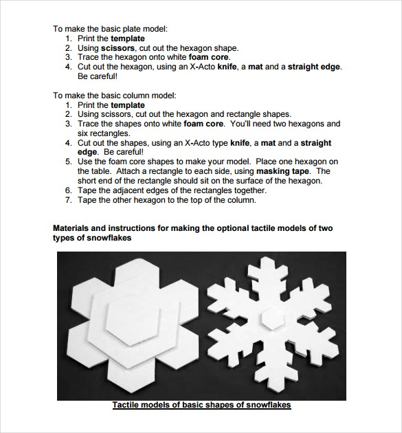 snowflake template printable in pdf