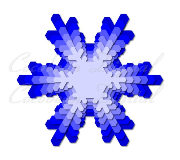 nested snowflake template download