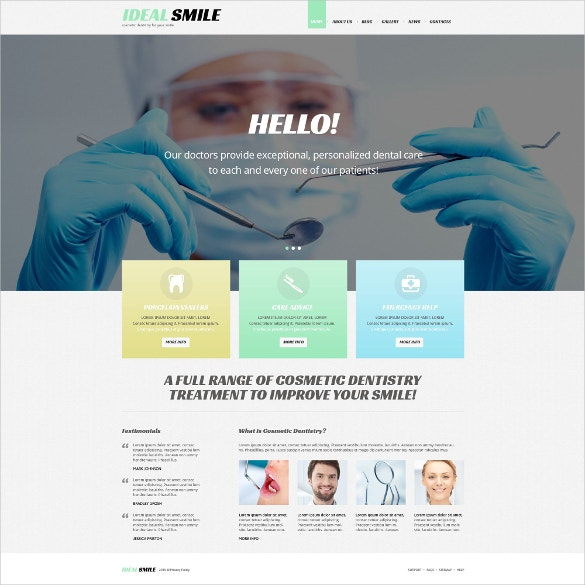 creative dentistry responsive wordpress website theme 75