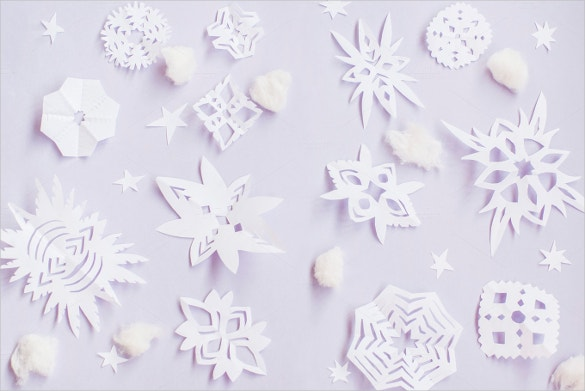 origami snowflake template download