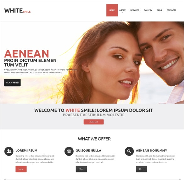 professional dentistry wordpress website theme 75
