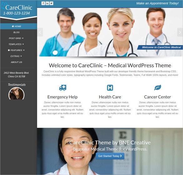 dental wordpress medical website theme 45