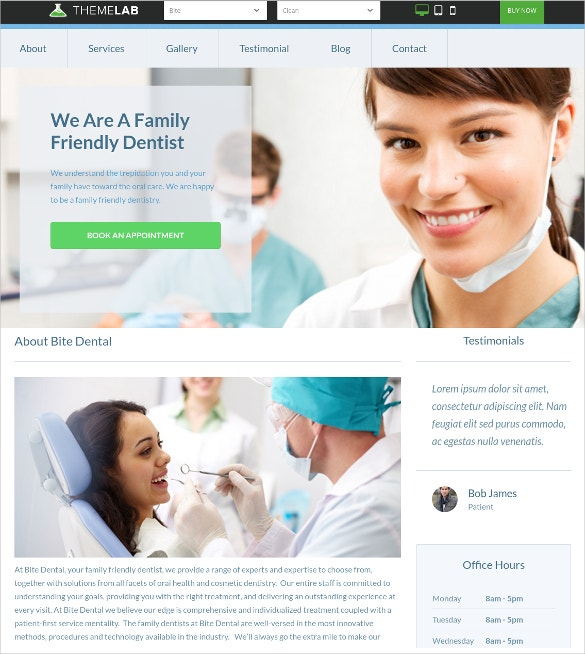 wordpress practice dentist website theme 69