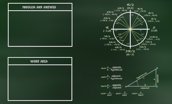 free trigonometry prezi template download