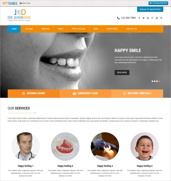 premium professional dental wordpress website theme 39